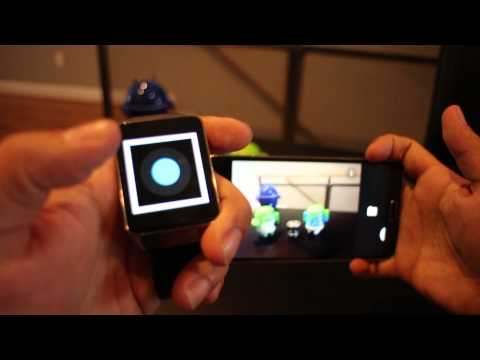 Android Wear Camera Remote on the Samsung Gear Live