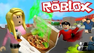 WE POISONED THE PIZZAS BY ACCIDENT!!   Roblox Roleplay