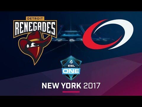 CS:GO - Renegades vs. compLexity [Train] Map 1 - Quarterfinal - ESL One New York NA Qualifier