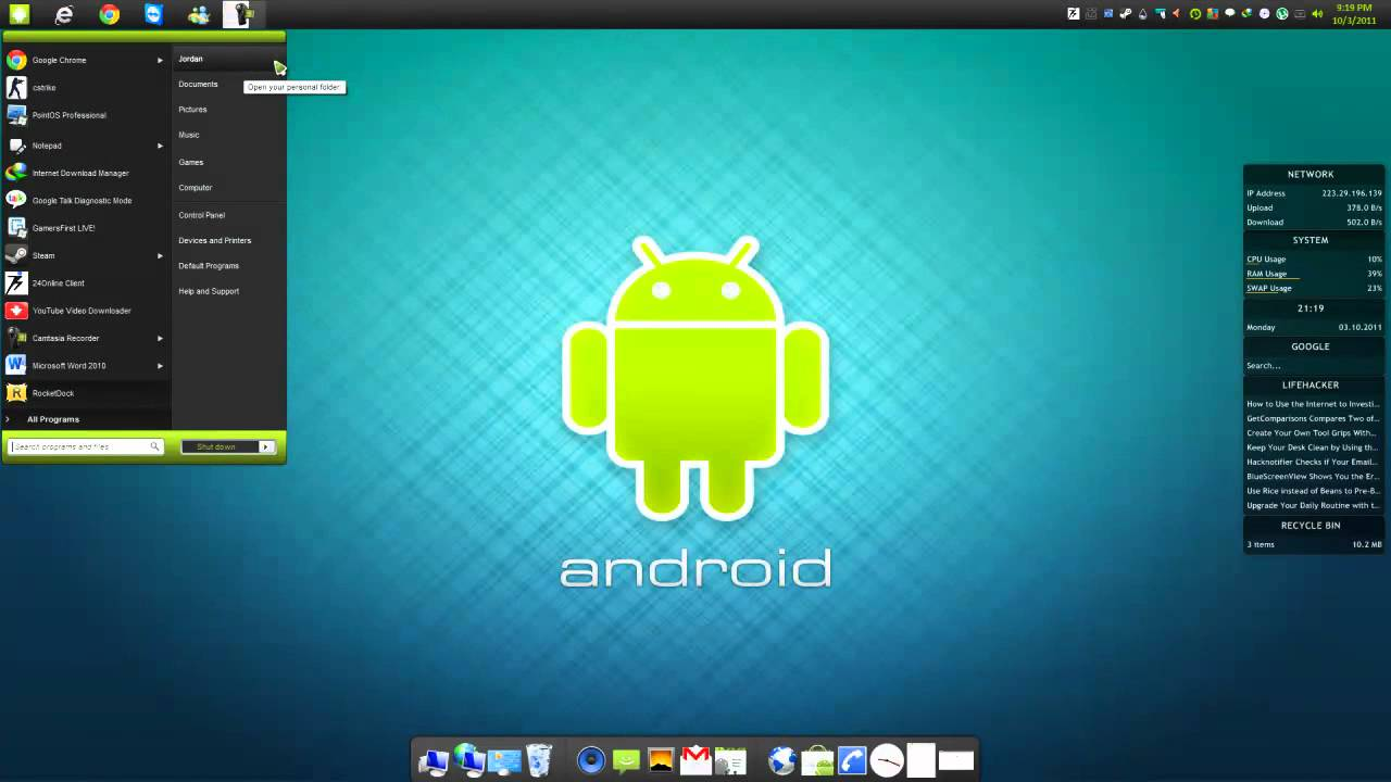 Download Windows Theme For Android - android theme