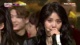 170118 AOA Excuse Me First Win  + Encore @ MBC Music Show Champion
