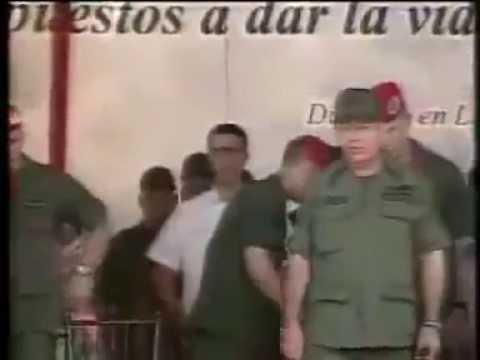 14 Jul 2012 Hugo Chávez en Fuerte Tiuna, Caracas. Transmisión de mando a nuevos comandantes