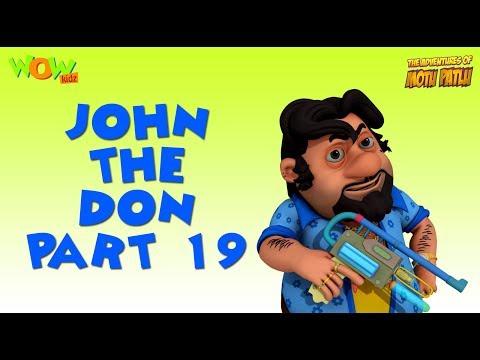 John The Don - Motu Patlu Compilation - Part 19 - As seen on Nickelodeon