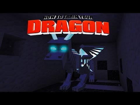Minecraft - How To Train Your Dragon - Ghost Dragons ! [23] video