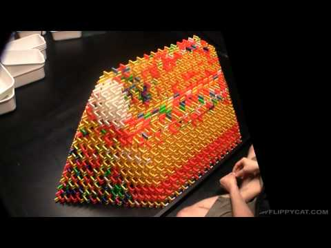 How NOT to Build a 3D Domino Pyramid