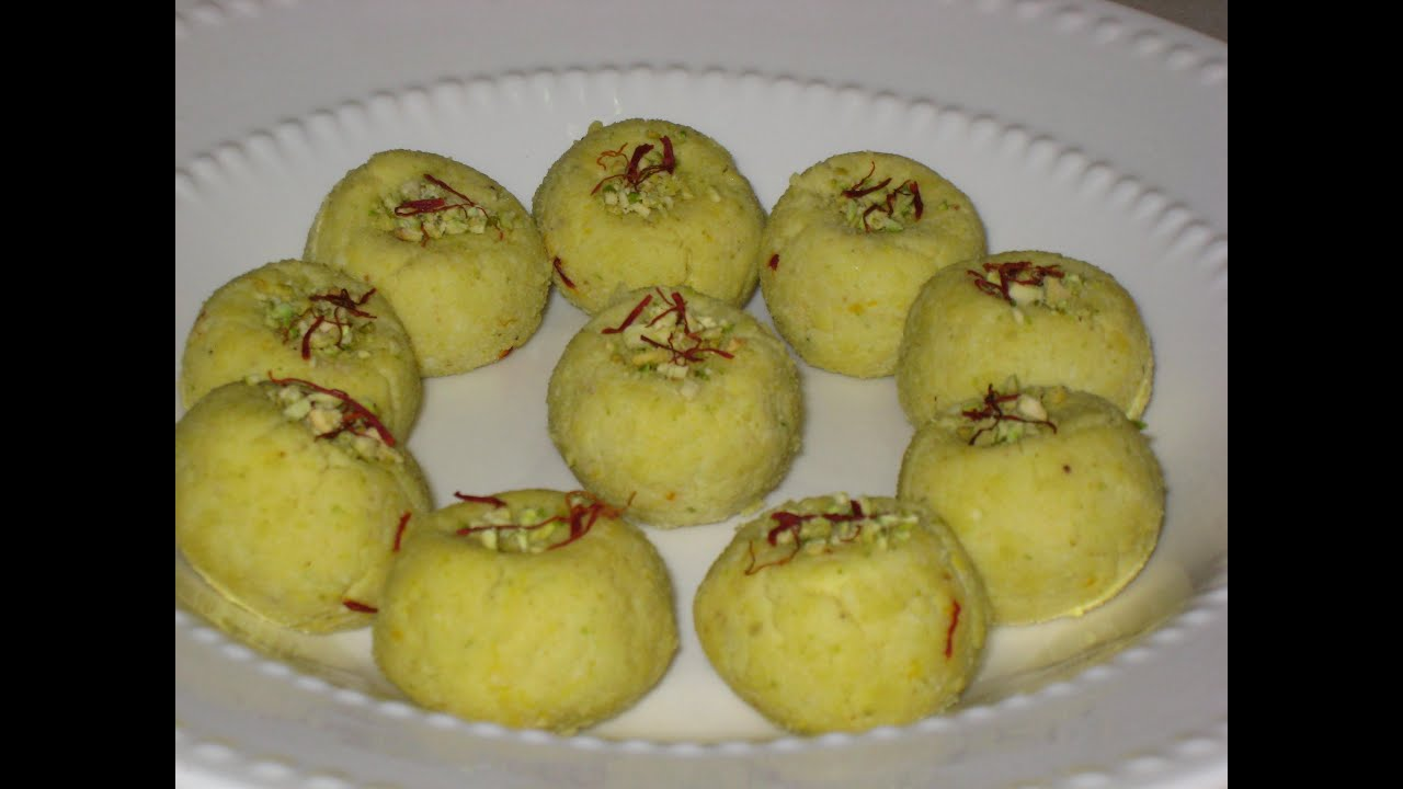 Kesar pista sandesh ( Indian milk dessert ) recipe - YouTube