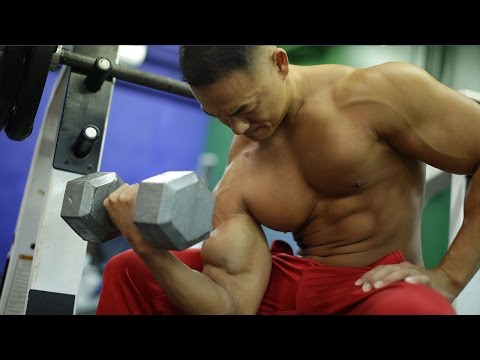 Advanced Full Body Dumbbell Workout