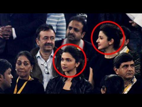Deepika Padukone Avoids Boyfriend's Ex Girlfriend Anushka Sharma video