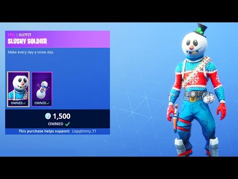 NEW FORTNITE CHRISTMAS SKINS OUT NOW! NEW CHRISTMAS SKINS IN FORTNITE! (FORTNITE BATTLE ROYALE)