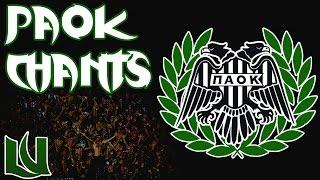 Τα Καλύτερα Συνθήματα Του ΠΑΟΚ   Best PAOK Chants   Θύρα 4/Gate 4