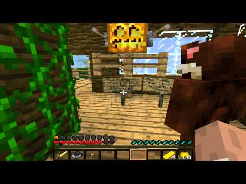 Minecraft 1.4.2 the Helloween Challenge Map part 2