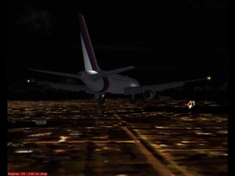 FS2004 Royal Nepal Airlines 757-2F8M from Windhoek to Kathmandu