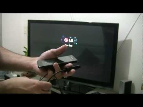 Saída HDMI (adaptador MHL) no Samsung Galaxy S2