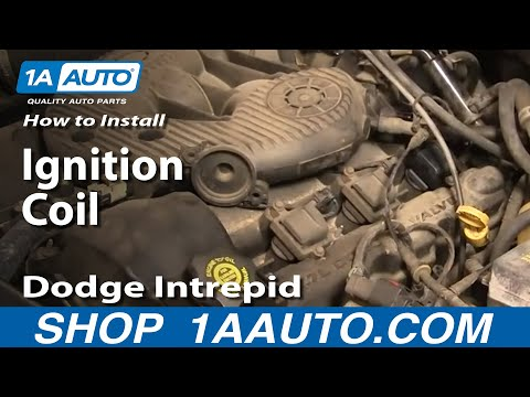 How To Install Repair Replace Ignition Coil Dodge Intrepid 98-04 1AAuto.com