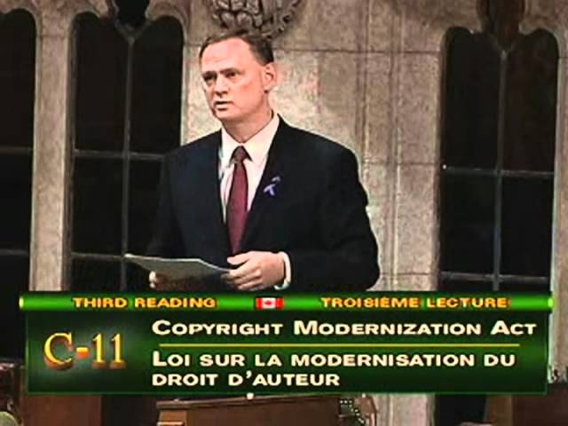2012-06-15 - David McGuinty on Copyright reform (C-11)