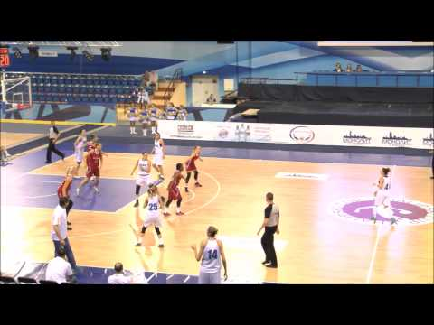 Ukraine 62 - 73 Russia (Khalipski Cup Minsk; 29.05.2015)