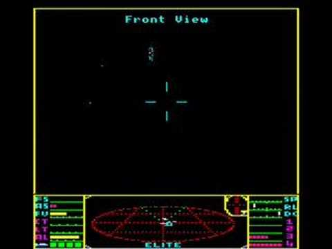 BBC Micro game Elite
