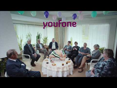 Youfone TV commercial - Net zo flexibel als ome Charrel