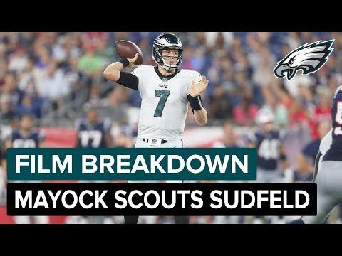 Film Breakdown: Mike Mayock Scouts Nate Sudfeld | Philadelphia Eagles