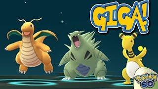 Gen 2 Pokémon GO Nederland - Tyranitar, Dragonite & Ampharos Evolueren! - m/ Soeren!
