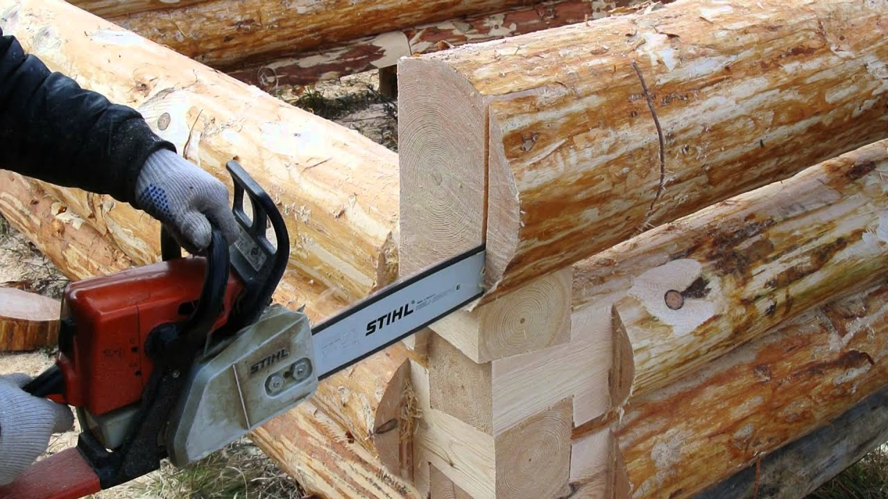 Как делать сруб из бревен своими руками