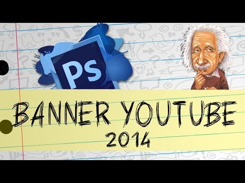 Como Criar Banner  Youtube - Photoshop Cs6 thumbnail
