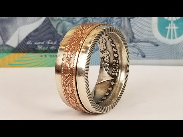 Making a Spinner Ring from Two Coins