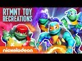 Rise of the TMNT Toys Fight Meat Sweats, Do Challenges & More! 🐢 | Nick thumbnail