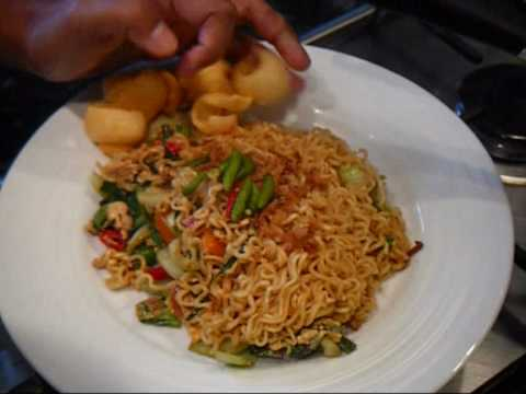 Mi Goreng Indonesian cooking...from England