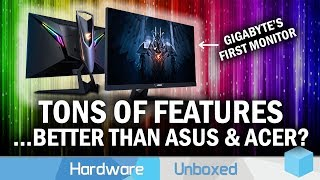 "Gigabyte's First Ever Gaming Monitor, Is It Any Good? Aorus AD27QD ""Tactical Monitor"" Review"