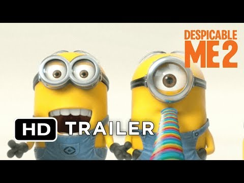 Despicable Me 2 - Official Teaser Trailer (2013) HD Movie Music Videos