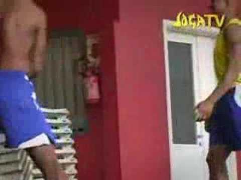Asi entrenan los brasileños