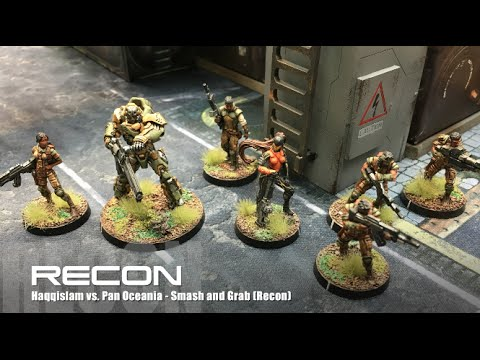 RECON! - Infinity N3 Skirmish Battle Reports - Ep 01