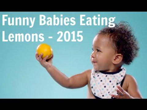 Babies Eating Lemons - Best Lemon Party of 2015