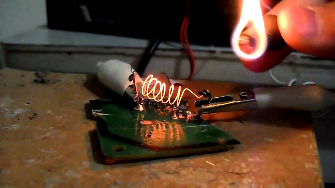 12 Volt Heating Ignition Element Youtube