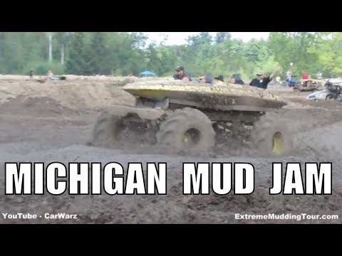 Mudding Footage At Michigan Mud Jam Mud Bog 2014