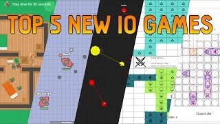 Top 5 NEW IO Games October 2016 Braains.io Doblons.io Zlap.io Bellum.io ShipZ.io