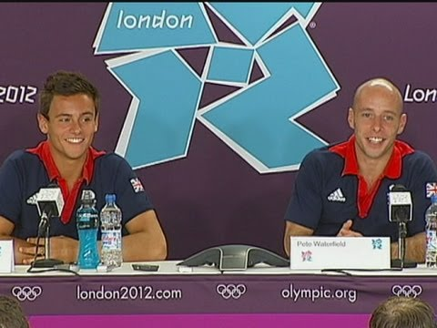 Tom Daley and Pete Waterfield hoping for glory
