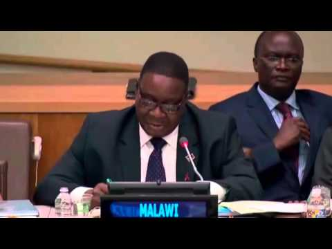 President of Malawi on reaching AIDS targets