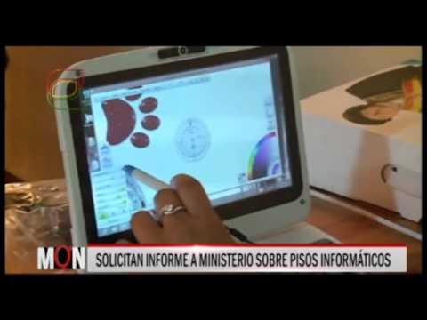 27/01/2014 - 17:55 SOLICITAN INFORME A MINISTERIO SOBRE PISOS INFORMÁTICOS