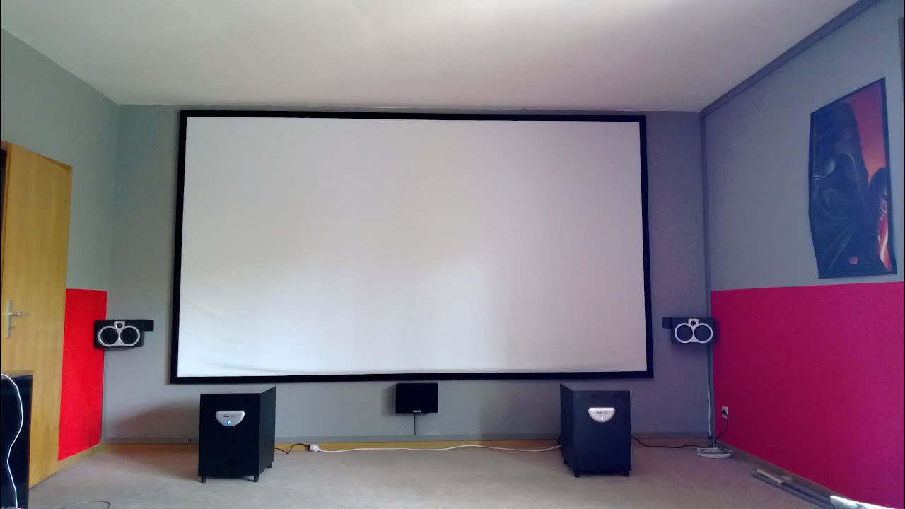 professionelles heimkino mit beamer erkl rt mit tipps und. Black Bedroom Furniture Sets. Home Design Ideas
