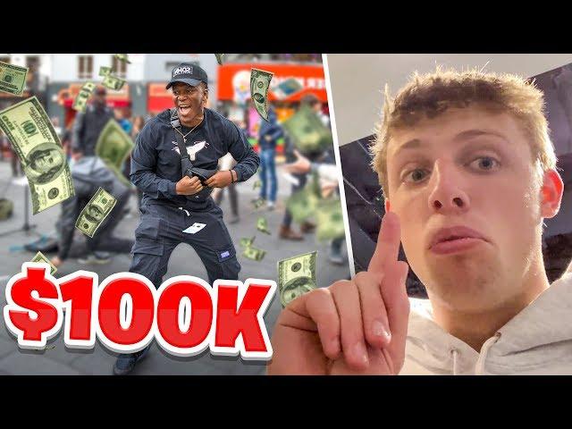 SIDEMEN SPEND $100,000 IN 1 HOUR CHALLENGE thumbnail