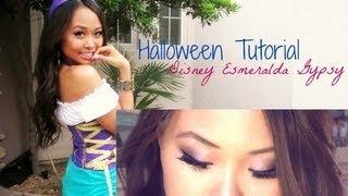 Esmeralda Gypsy Disney Halloween Tutorial