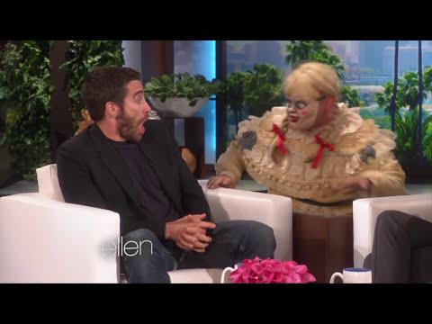 Jake Gyllenhaal Gets Scared