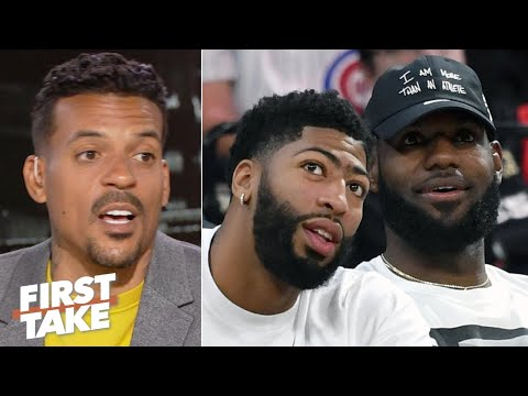 LeBron must trust Anthony Davis to stay fresh for the Lakers - Matt Barnes | First Take