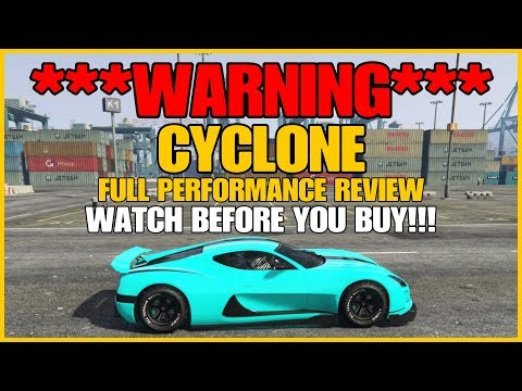 GTA ONLINE - ***WARNING*** DO NOT BUY THE CYCLONE UNTIL YOU SEE THIS!!! (FULL PERFORMANCE REVIEW)