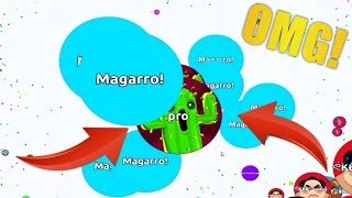 67K VANISHSPLIT IN AGARIO - Biggest Agar.io Split Ever?!