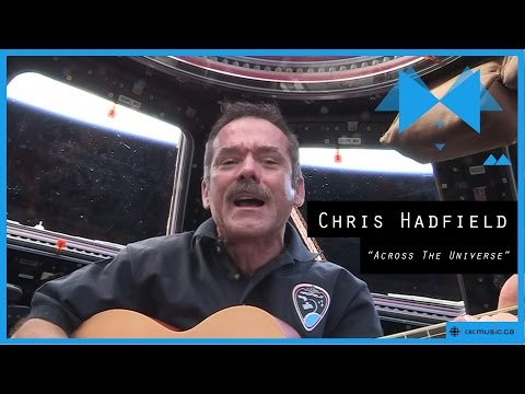 Chris Hadfield - Iss Is Somebody Singing