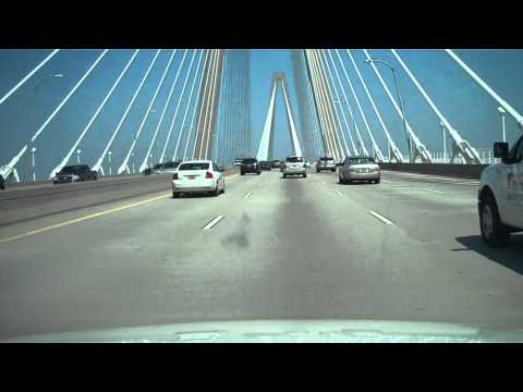 Ravenel Bridge over Cooper River - Charleston, SC