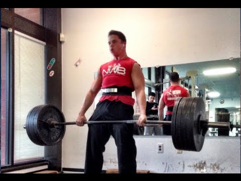 Nick Wright - Deadlifts 500lbs Image 1